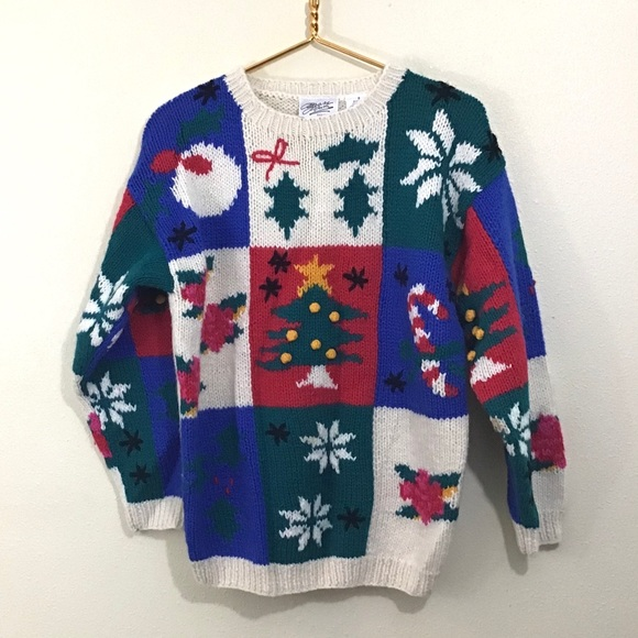 Nordstrom Chunky Christmas Sweater Size Small
